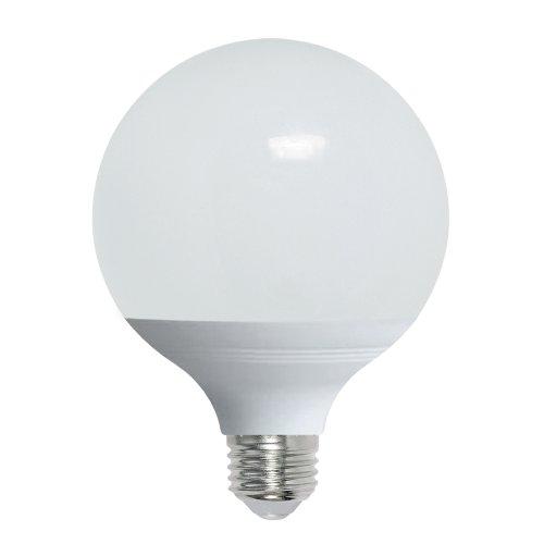 LED-G95-16W-4000K-E27-FR-NR Лампа светодиодная. Форма шар. матовая. Серия Norma. Белый свет 4000K. Картон. ТМ Volpe.